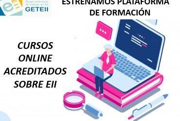 Nuevo lanzamiento Plataforma de cursos online GETEII