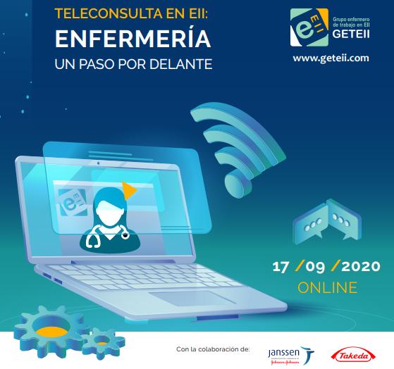 Jornada Online «Teleconsulta en Eii: enfermería un paso por delante»