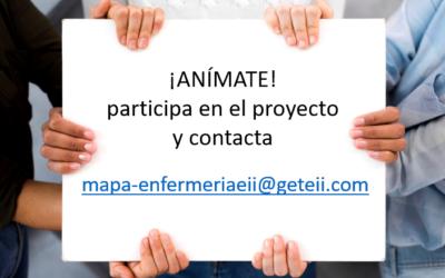 """Propuesta de Colaboración del proyecto """"Estado actual de la atención enfermera a pacientes con enfermedad inflamatoria intestinal"""""""