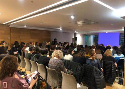 Asistentes a la I jornada de enfermería catalana de EII