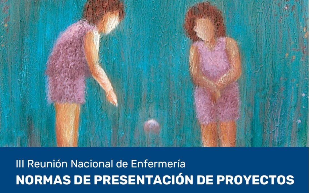 Normas presentación proyectos Premio enfermero