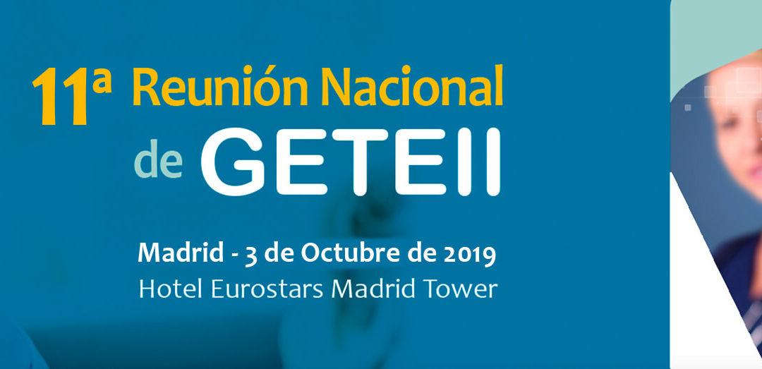 XI Reunión de GETEII (octubre 2019)
