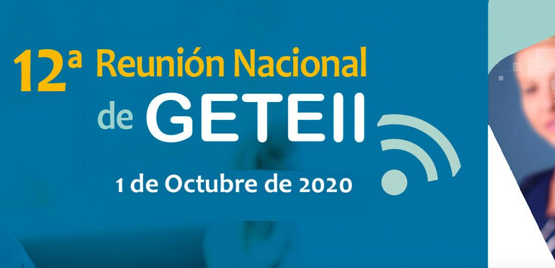 XII Reunión GETEII 2020